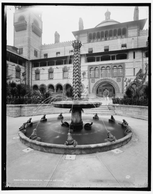 The fountain, Ponce de Leon