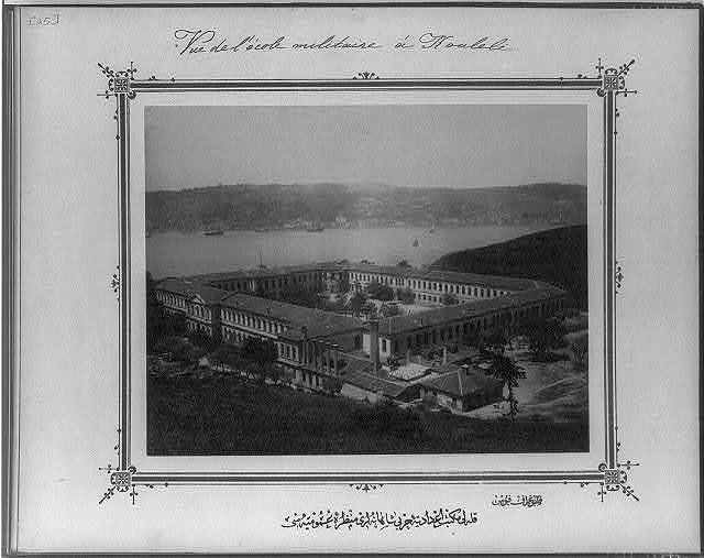 [The general view of the Imperial Military High School, Kuleli] / fotoğraf Föbus.