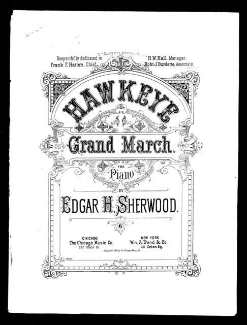 The  Hawkeye grand march