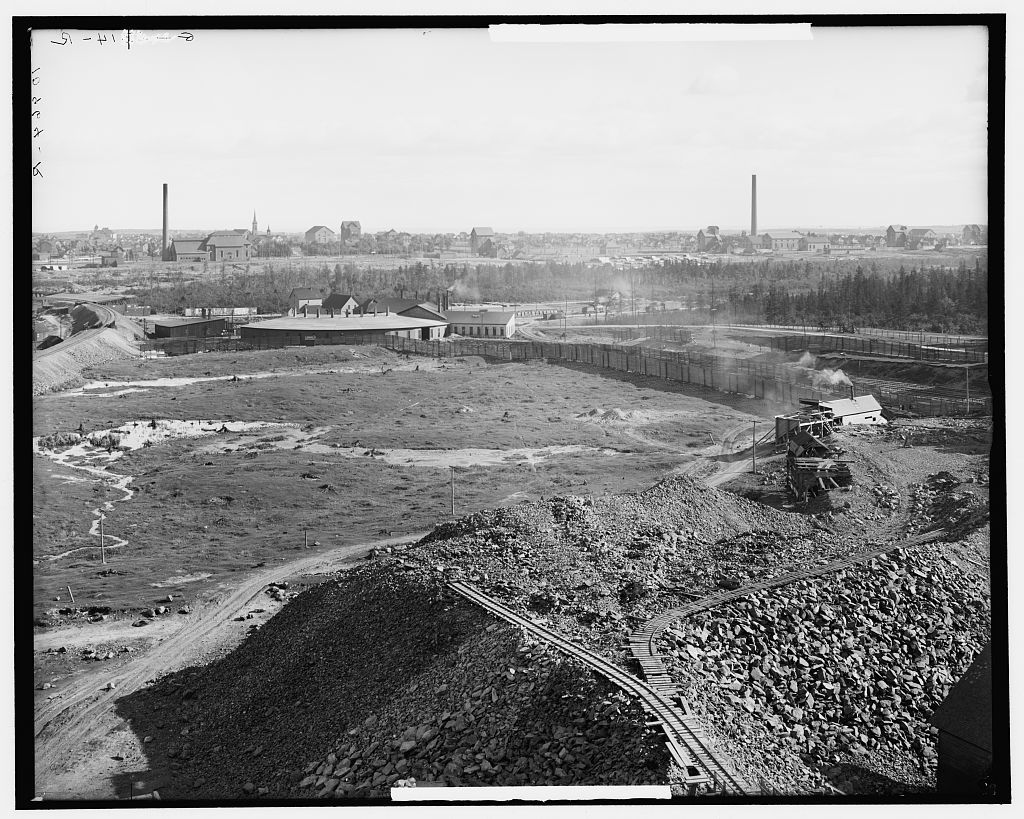The Heart of the copper country, Calumet, Mich.