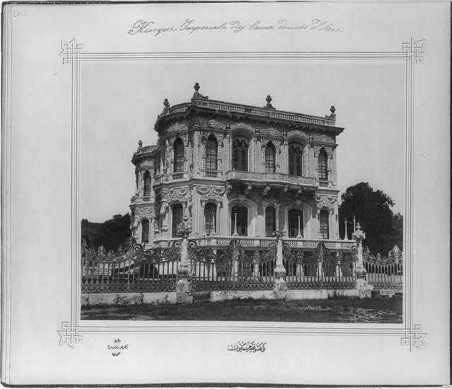 [The Imperial Göksu Kasrı (palace)] / Lieutenant Colonel of the General Staff, Ali Rıza Bey.