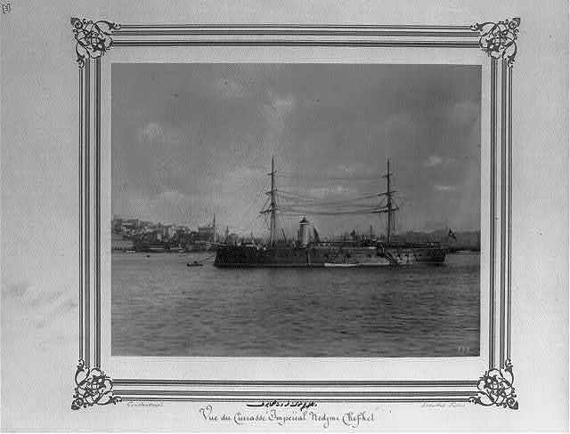 [The Imperial Ironclad Corvette, Necm-i Şevket] / Constantinople, Abdullah Frères.