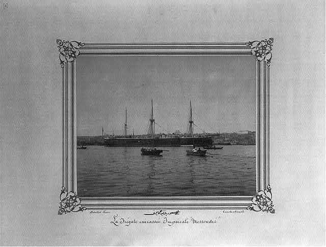 [The Imperial Ironclad Frigate Mes'udiye] / Abdullah Frères, Constantinople.