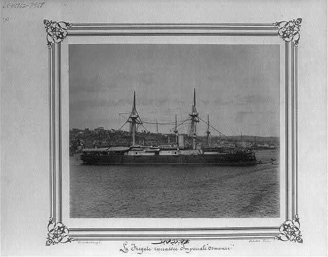 [The Imperial Ironclad Frigate Osmaniye] / Constantinople, Abdullah Frères.