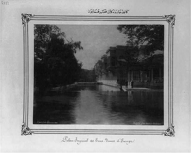 [The Imperial Palace at Kağıthane] / Abdullah Frères.