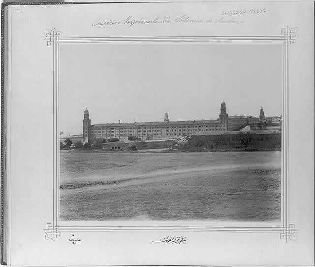 [The Imperial Selimiye Barracks] / Lieutenant Colonel of the General Staff, Ali Rıza Bey.