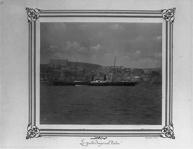 [The Imperial Yacht, Talia] / Constantinople, Abdullah Frères.