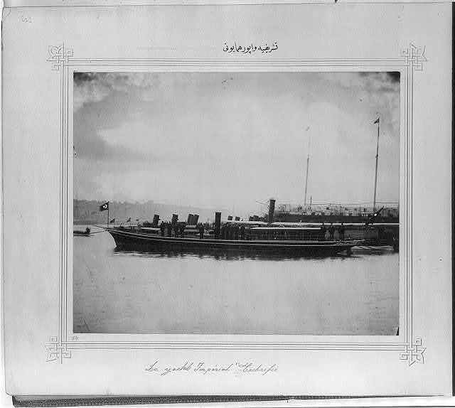 [The Imperial Yacht Teşrifiye]