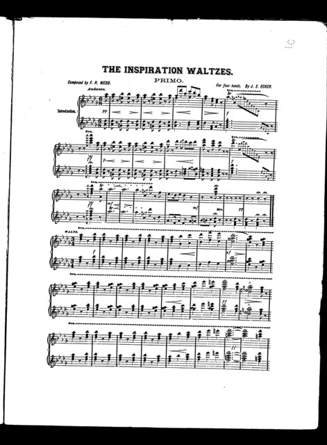 The  Inspiration waltzes