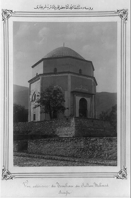 [The mausoleum of Çelebi Sultan Mehmet (I) in Bursa] / Abdullah Frères.