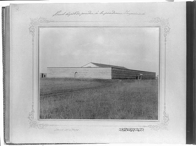 [The new magazine at the Imperial Gunpowder Factory] / the photograph studio of the Imperial School of Engineering.
