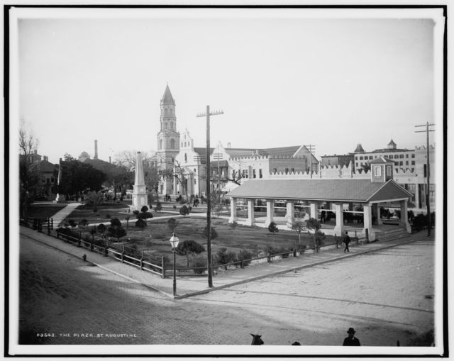 The Plaza [de la Constitucion], St. Augustine