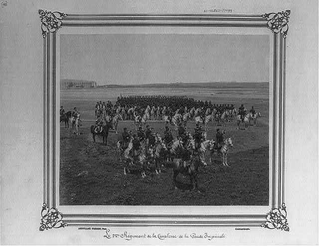 [The Second Cavalry Regiment of the Imperial Guard] / Abdullah Frères, Phot., Constantinople.