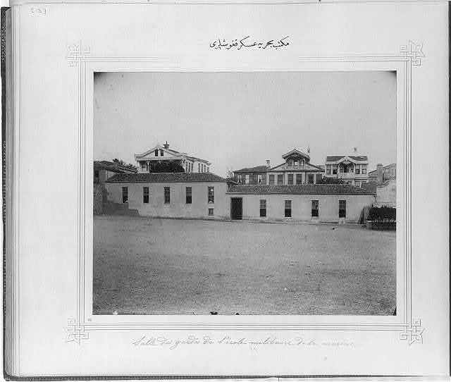 [The soldiers' barracks of the Naval Academy]