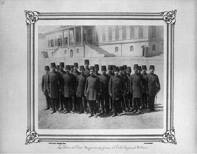 [The students of the General Staff in uniform at the Imperial Military Academy] / Abdullah Frères, Phot., Constantinople.