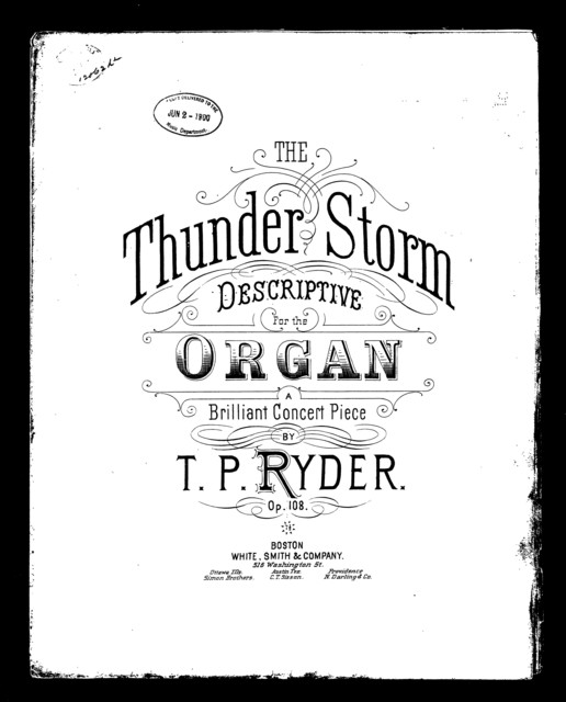 The  Thunder storm