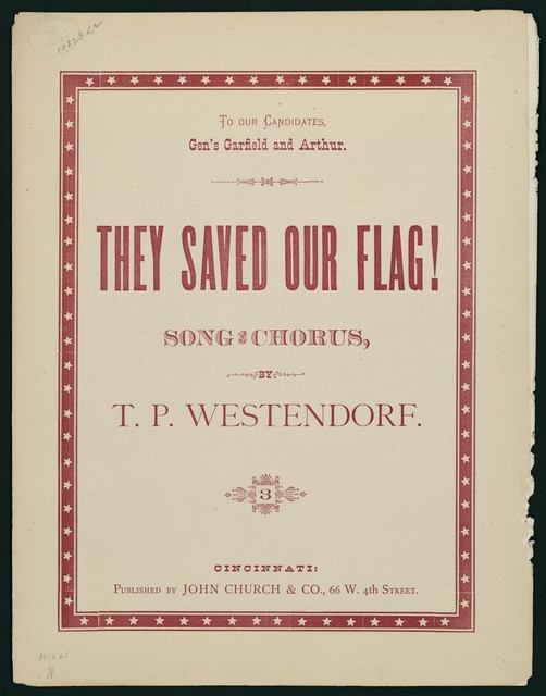 They Saved our Flag Song and Chorus