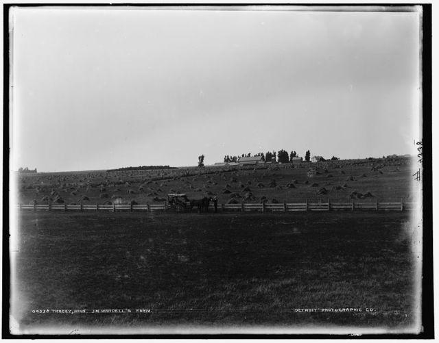 Tracey [sic], Minn., J.M. Wardell's farm