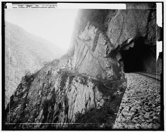 Tunnel No. 4, Temasopo [sic] Canyon, Mexico