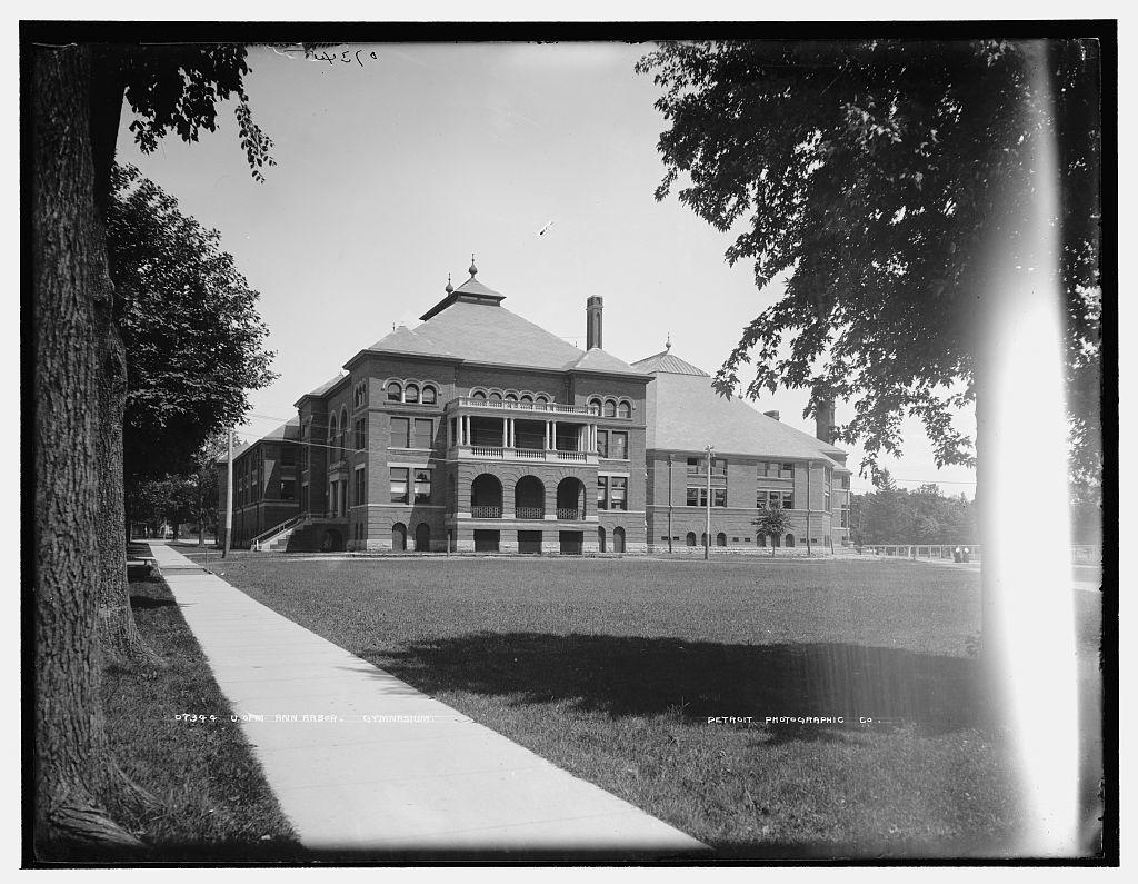 U. of M., Ann Arbor, Gymnasium