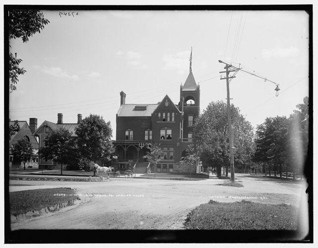 U. of M., Ann Arbor, Psi Upsilon house