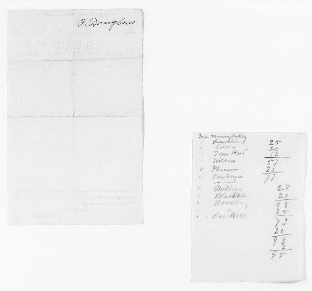 Undated Accounts - Folder 2 of 2