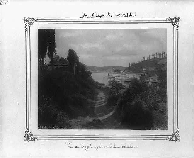 [View of the Bosporus from the Anatolian side] / Abdullah Frères.