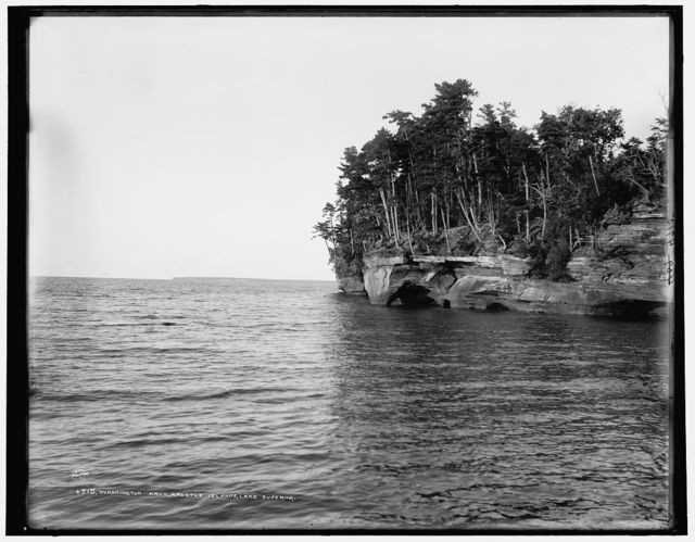 Washington Arch, Apostle Islands, Lake Superior