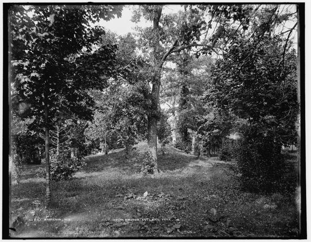Waukesha, Wis., Indian mounds, Cutler's Park