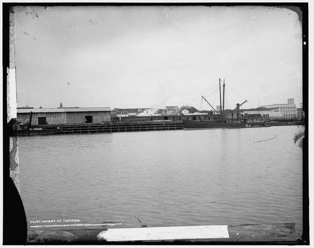 Wharf at Tampico