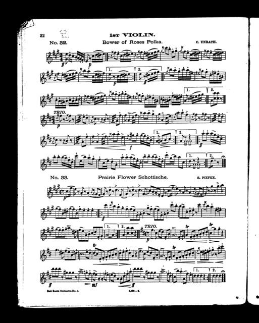 White's ballroom orchestra, no. 4