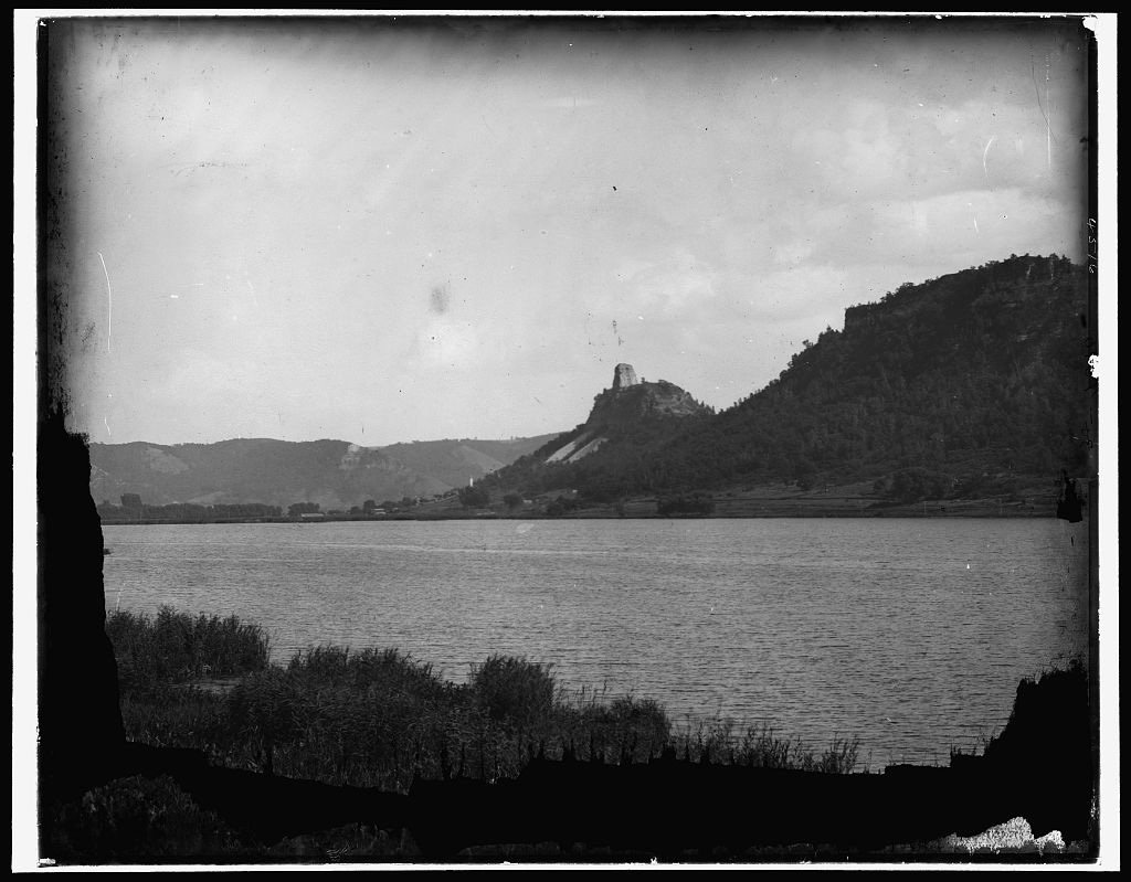 Winona, Sugar Loaf Rocks from the lake