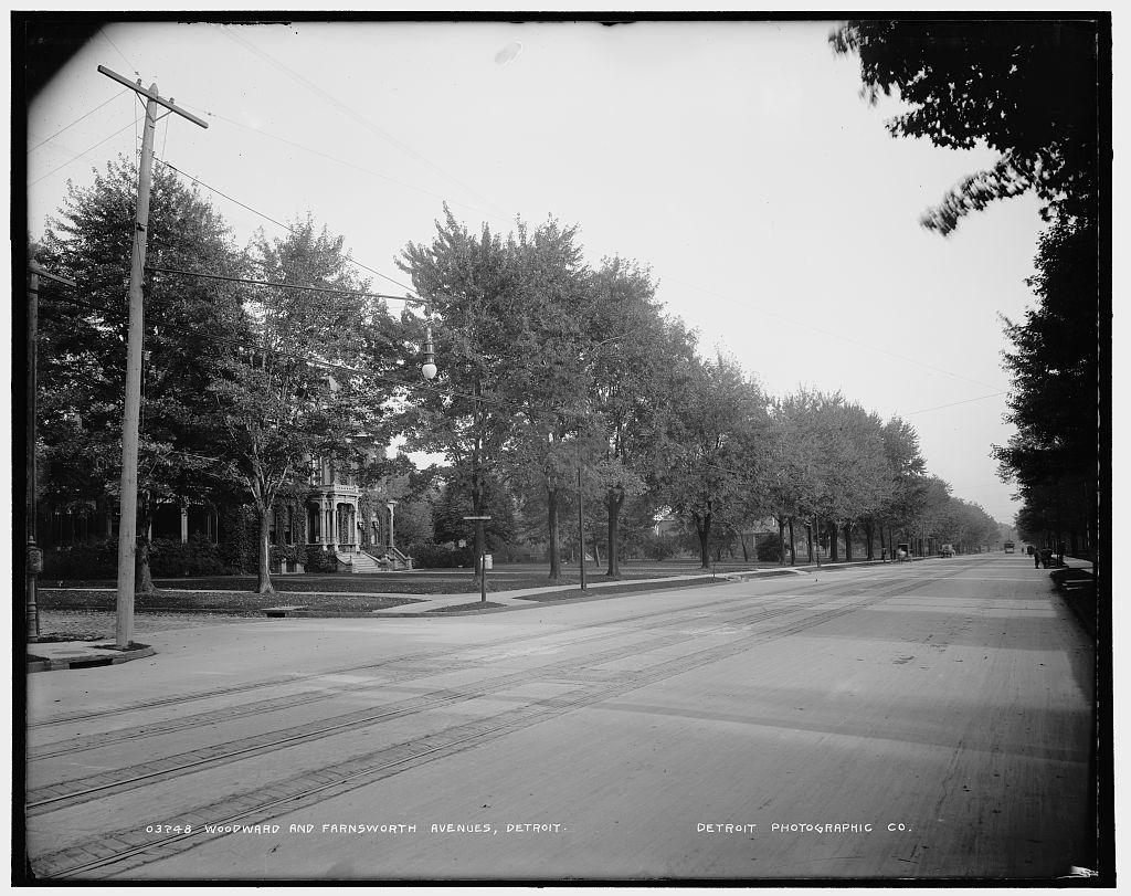 Woodward and Farnsworth Avenues, Detroit