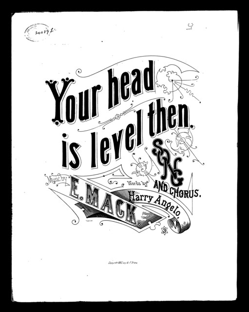 Your head is level then