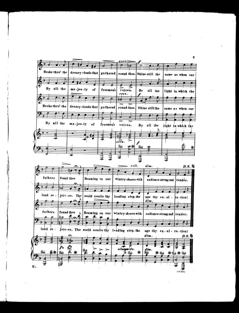 A  National anthem