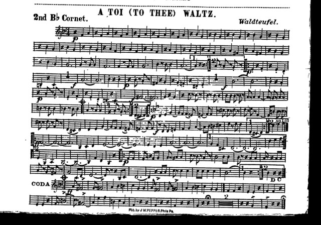 A  toi (to thee) waltz