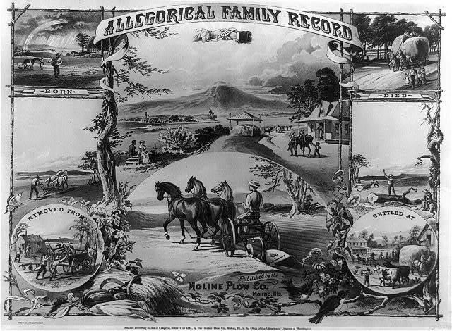 Allegorical family record