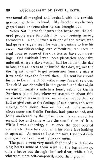 Autobiography, including also reminiscences of slave life, recollections of the war, education of freedmen, causes of the exodus, etc.
