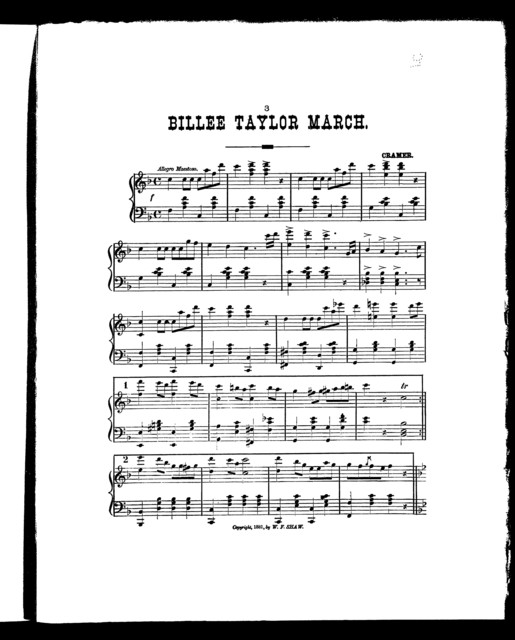Billee Taylor march