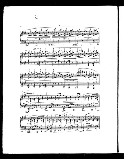 Cinq morceaux caractřistiques, no. 4