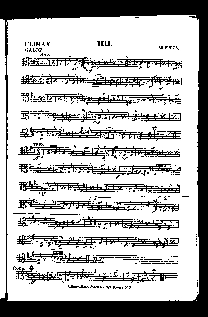 Climax; Galop [and] Gustav's march