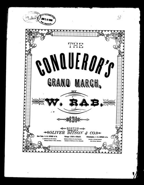 Conqueror's grand march