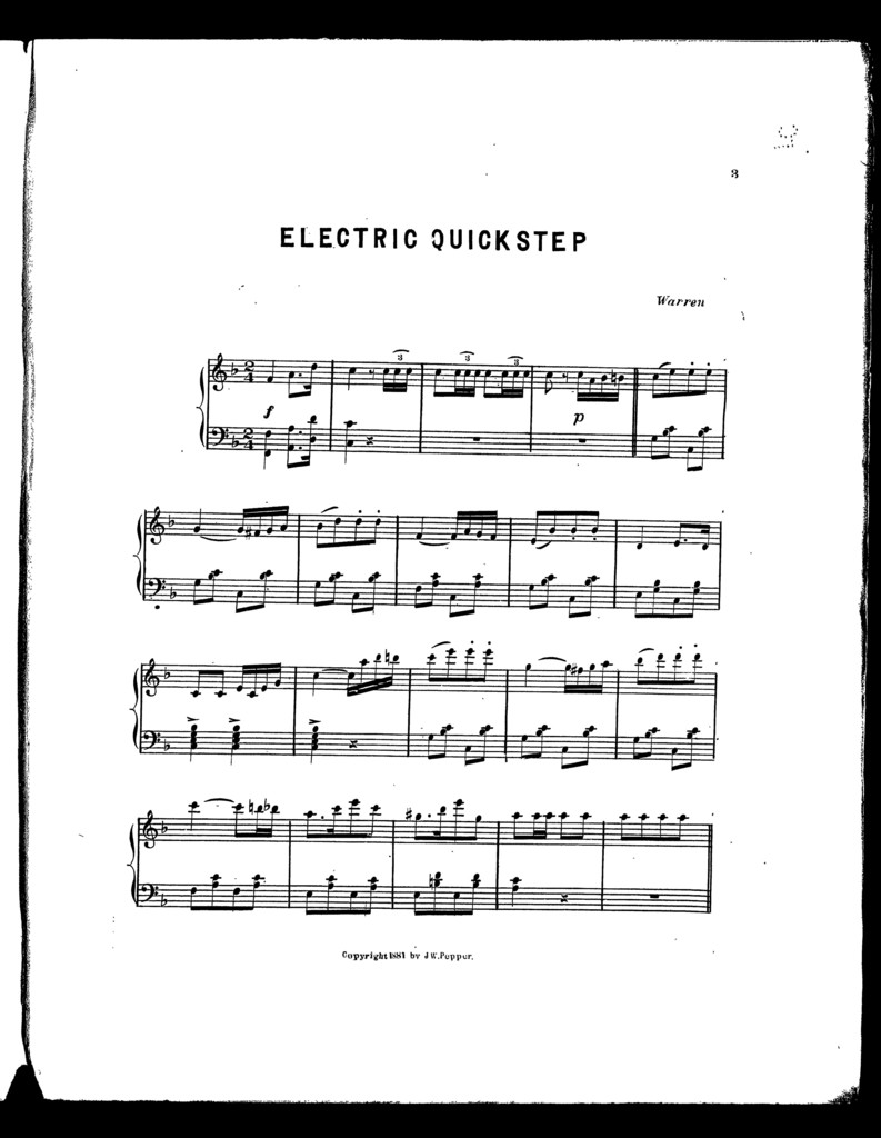 Electric quickstep