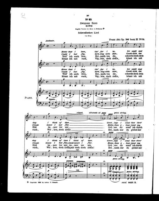 Favorite trios, op. 186, vol. III