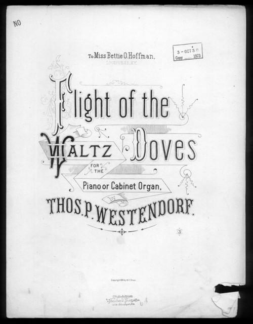 Flight of the waltz doves