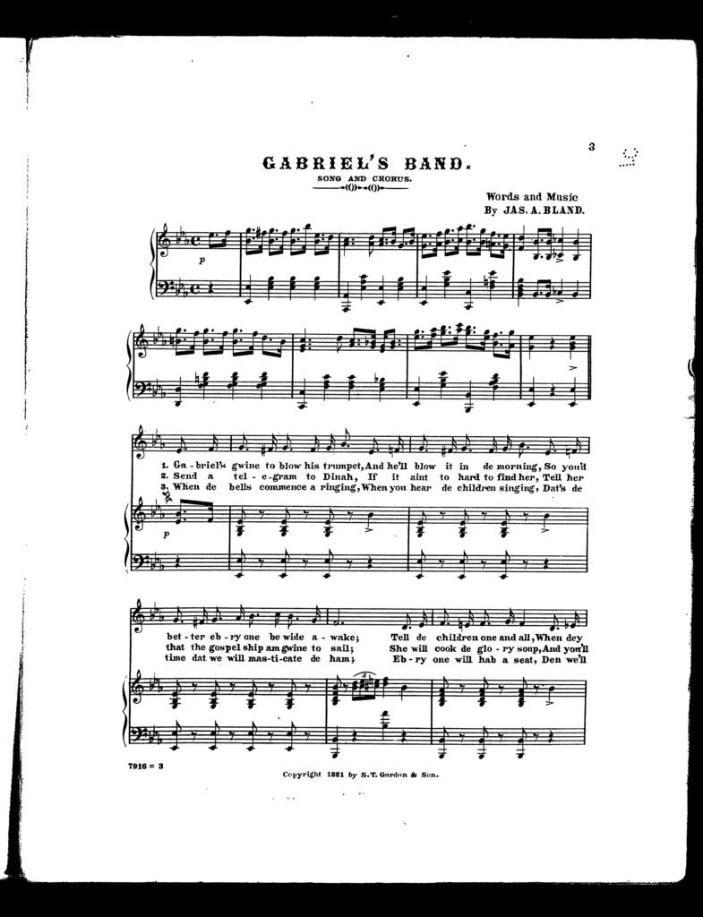 Gabriel's band