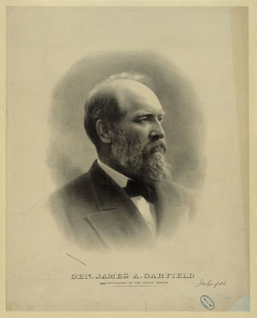 Gen. James A. Garfield, 20th president of the United States / W.J. Morgan & Co. lith., Cleveland, O.