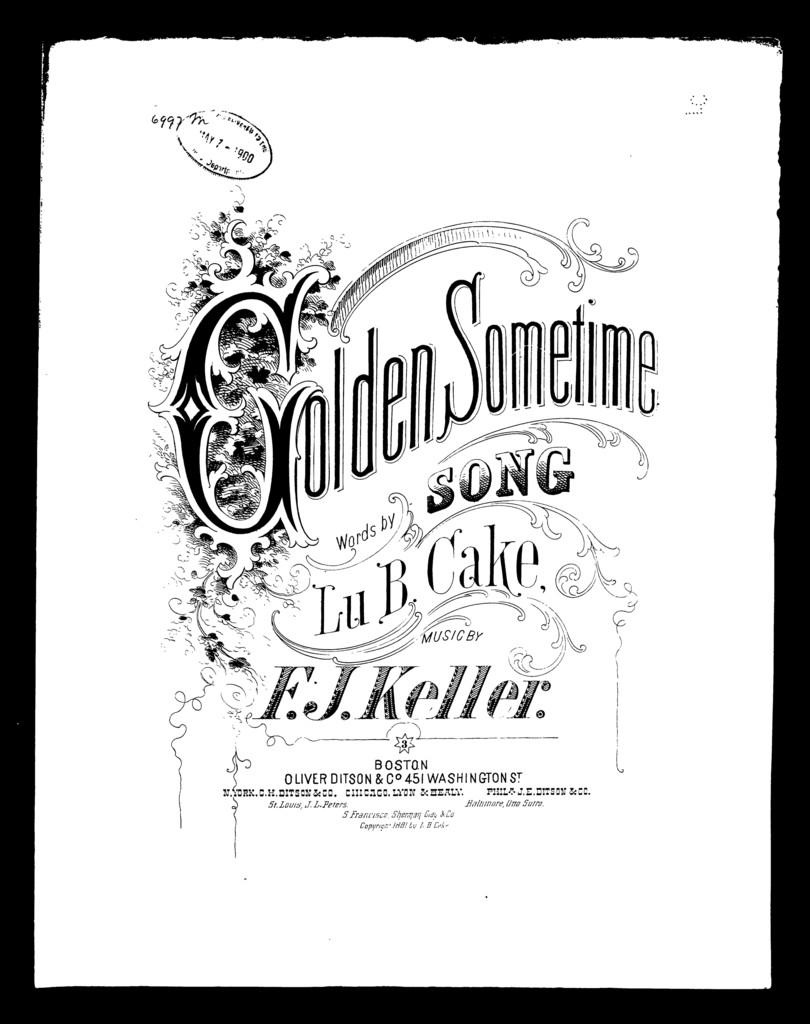 Golden sometime
