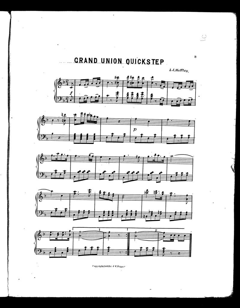Grand Union quickstep