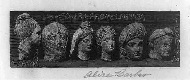 Greek terra cotta heads from Tonagra & elsewhere